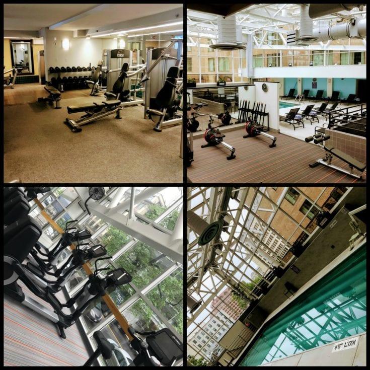 hyatt regency washington on capitol hill s pool and gym. Black Bedroom Furniture Sets. Home Design Ideas