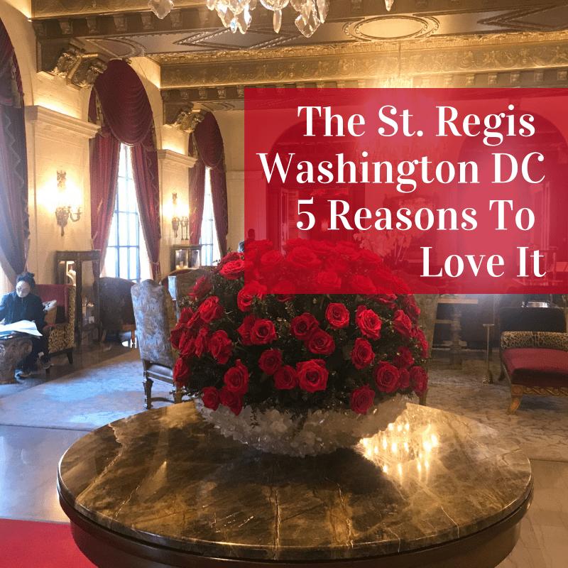 Always5Star St Regis Hotel Title Page