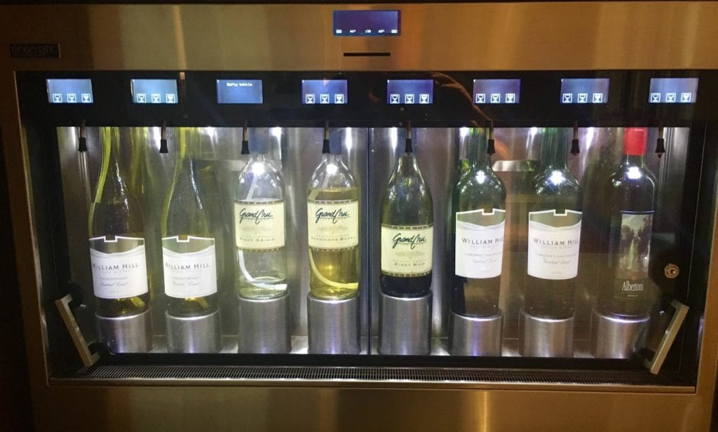 More wines selections at the Ritz-Carlton Los Angeles