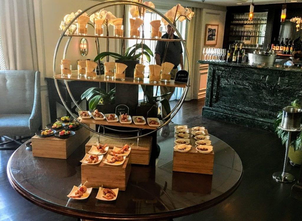 Culinary Delights at  the Ritz-Carlton Marina Del Rey