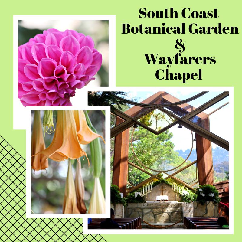 Always5Star South Coast Botanical Garden & Wayfarers Chapel