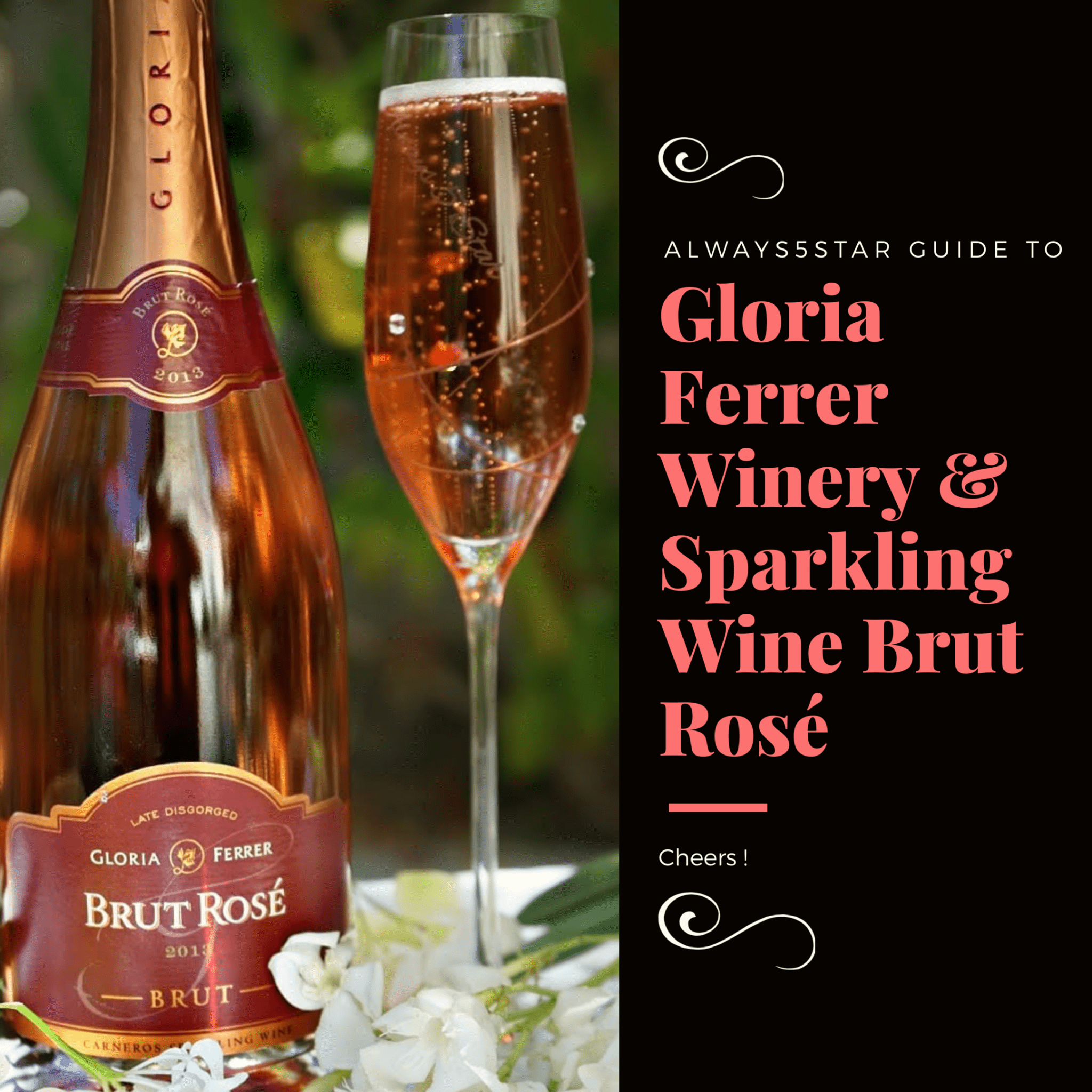 Always5Star Guide To Gloria Ferrer Sparkling Wine