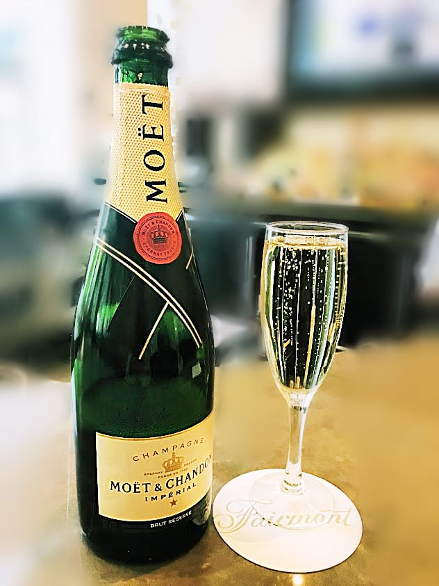 My choice is the Moët & Chandon Champagne