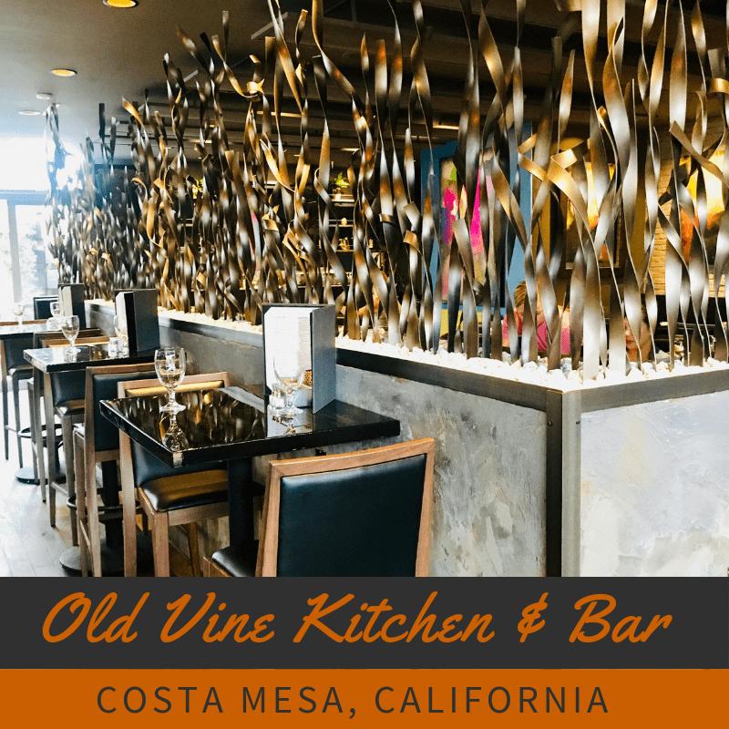 Always5Star Old Vine Restaurant The Camp Costa Mesa Title
