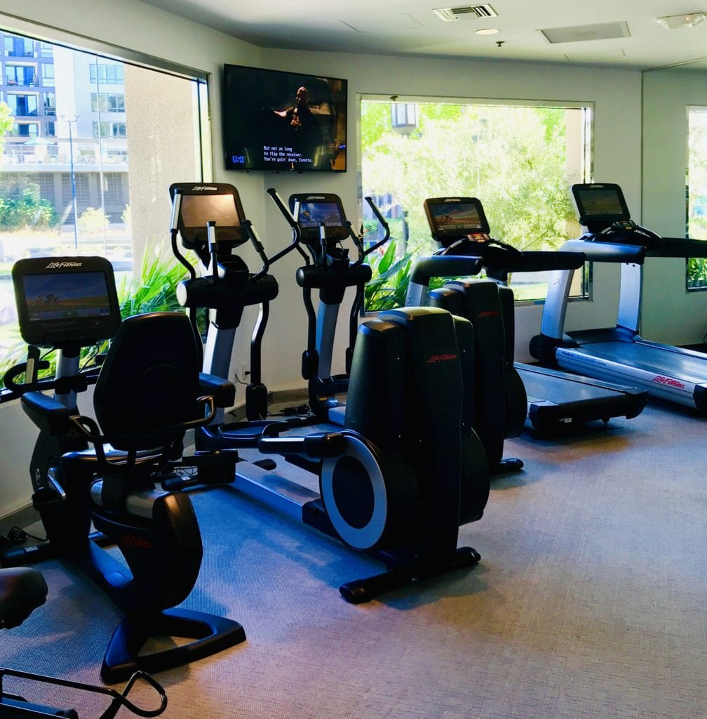 Gym with views to enjoy your workout