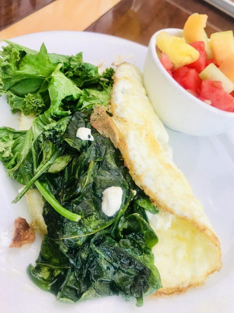 egg white omelet breakfast
