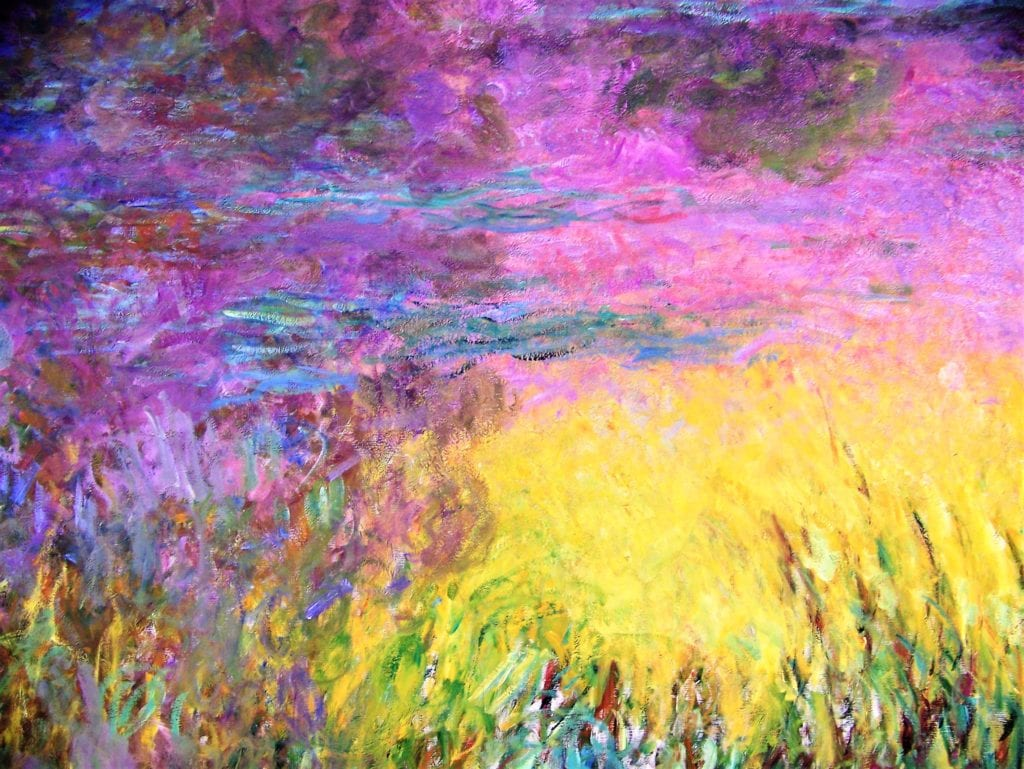 Monet's paintings were always an inspiration to me