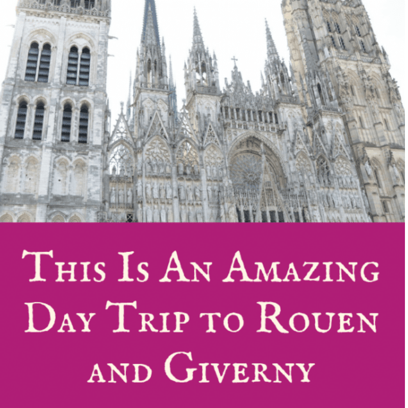 Cindy Bokma Always5Star Day Trip To Rouen And Giverny Title Page